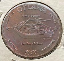 1970 Ottawa Ontario Trade Dollar $1 Token - Canada's Capital