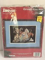 Janlynn HUMBLE STABLE Christmas Manger Cross Stitch Kit Stoney Creek Collection