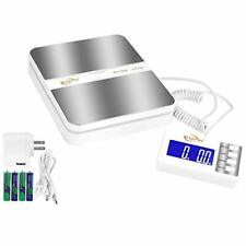 Weighmax 130lb X01oz Extended Display Digital Shipping Postal Scale White