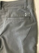 New ListingUnder Armour Men's 36 x 32 1248089 Match Play Gray Loose Golf Chino Dress Pants