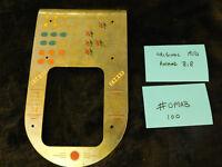 ORIGINAL BUCKLEY / MILLS ANTIQUE SLOT MACHINE AWARD BIB LARGE WINDOW #OMAB100