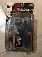Michael Myers Figure & Poster Halloween Movie Maniacs Series 2 McFarlane Toys