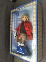 Barbie Doll with BURBERRY LONDON BLUE LABEL Limited Edition Japan Free Shipping1