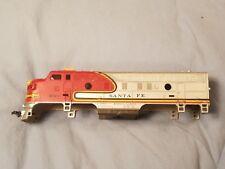 HO SCALE Locomotive Engine Mantua Tyco? Santa Fe #4015 ***SHELL & WEIGHT ONLY