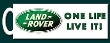 Land Rover One Life Live It! Mug -  Perfect gift