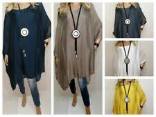 Hauts et chemises tunique en soie pour femme