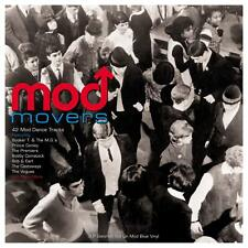 Mod Movers 42 Mod Dance Tracks 3 LP Gatefold Set 180g Blue Vinyl Record