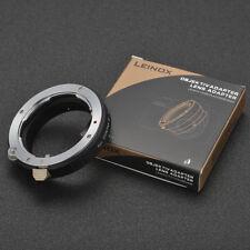 LEINOX Contax G-NEX for Contax G lens to Sony E mount  Lens A9 A7R3 A6300 A7II
