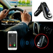 Bluetooth Transmitter Hands-free Car Kit 2 USB For iPhone 7 6 6S HTC Sony Nexus