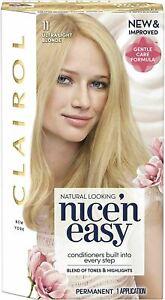 Clairol Nice 'n Easy Permanent Hair Dye Number - 11 Ultra Light Blonde