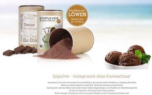 Premium Eispulver Für Speiseis Schoko De Luxe Eis Selber Machen Posten MHD Ware
