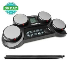 Alesis CompactKit 4 Portable Electronic Drum Kit With Coach Feature and Game F