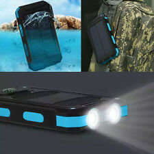 Waterproof 300000mAh Dual USB Portable Solar Battery Charger Solar Power Bank