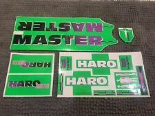 HARO MASTER decal sticker