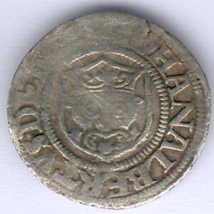 Meckl.-Schwerin Johann Albrecht I. (1547-1576) Sechsling 1552 Kunzel: 105, s