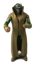 WWE Sin Cara Elite Action Figure Series 25 Green Paint Gold Coat Rare