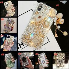 for Samsung A10 A20 A40 A50 A70 A21S Phone Cases Women Girly Bling Luxury Covers