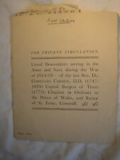 More details for cornwall great war military history cardew family british army royal navy 1831