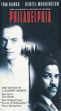 Philadelphia VHS Video Tape 1994 Sealed Tom Hanks Denzel Washington