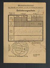 1942 Krone Germany Money Oranienburg Concentration Camp Kz Johann Niemcsewski 4
