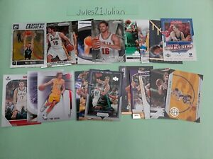 21 Pau Gasol cards Panini Prizm Grizzlies Lakers Olympics Spain NBA Super⭐🏀🔥😲