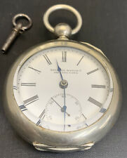 Bristol Pocket Watch - 7J - 18S - Key wind - # 119943 - No Reserve 146