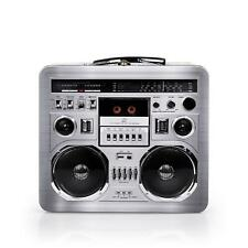 80's Boombox Radio Lunchbox Tin Tote