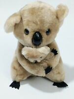 Dakin Koala Bear Mom Baby Set Plush Stuffed Animal 1978 on tag