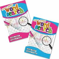 A4 Travel Jumbo Large Print Word search Word Puzzle Book