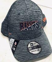 Chicago Bears New Era 2020 NFL Summer Sideline 39THIRTY Flex Hat - Graphite M/L