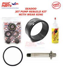 SEADOO Jet Pump Rebuild Kit Wear Ring Impeller Shaft Seal Oil 2003-2005 GTI RFI