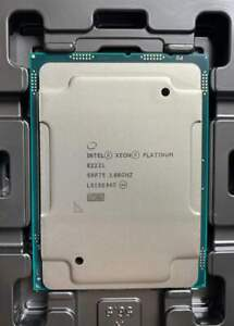 Intel xeon CPU Platinum 8222L QS processor 18C 3.0G LGA3647 similar to gold 6154