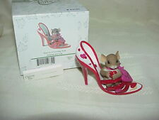 Charming Tails - You're a Loving Sole - Excellent - in Original Box