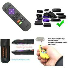 Roku Express HD Streaming Media Player HDMI Netflix Replacement Remote Control