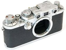 EXC+ 1952/53 Leica Leitz IIIf (3F) *RED DIAL* (RD) Screw Mount Film Camera Body