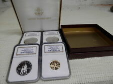 1995 ATLANTA OLYMPIC COMMEMORATIVE 4 COIN SET PROOF 69