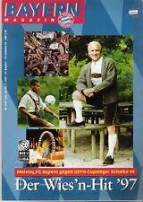 Bayern Magazin 4/49 , Bayern München - Schalke 04 , 26.09.1997