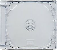 200 X CD Super Jewel Box 10.4mm Standard Cases 1 or 2 Disc with Clear Tray 200pk