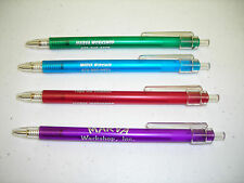 Personalized Translucent Pens Pkg of 50 Your Choice of Font Included