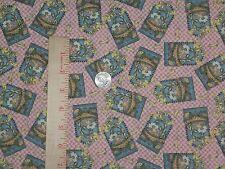 A Tisket A Tasket Debbie Mumm Gingham Patchwok SSI Cotton  Fabric Quilt Sew BTY