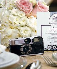 Set of 10 disposable Cameras 22 Designs Wedding Reception Party Multi Design