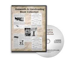 Modern Gunsmith V1/V2 + 2 Handloader Books - Vintage Rifle & Gun Repair CD B411