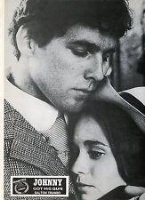 TIMOTHY BOTTOMS JOHNNY GOT HIS GUN DALTON TRUMBO 1971 VINTAGE PHOTO LOBBY CARD 3