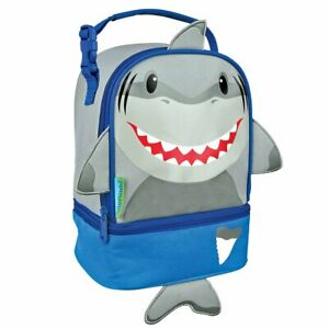 NEW Stephen Jospeh Shark Lunch Pal Childrens Snack Box Insulated School Boys