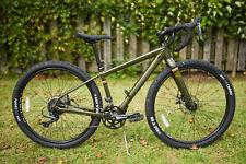 Salsa Journeyman 650b Olive 50cm Gravel Bikepacking 2x8 Shimano Claris