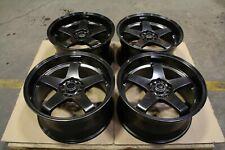 """Rota GTR-D DRIFT 18"""" Alliages BMW 3/5 Série E46 E36 E90 F30 M3 E60 E61 5x120"""