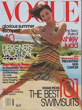 VOGUE MAGAZINE JUNE 2002 ASHLEY JUDD US
