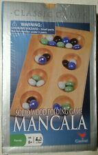 New in plastic wrap! Classic Mancala Solid Wood Folding Game Cardinal