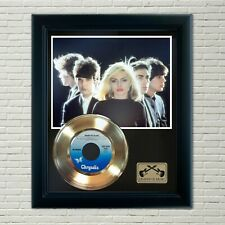 """Blondie """"Heart Of Glass"""" Framed 45 Gold Record Display"""