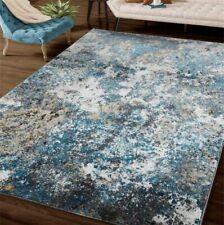 Rugs Area Rugs Carpets 8x10 Rug Modern Large Living Room Big Floor Blue 5x7 Rugs
